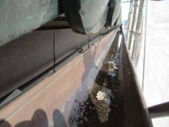 雨樋の破損箇所です