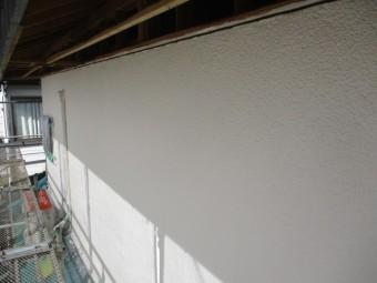 2階の中塗りが終了しました