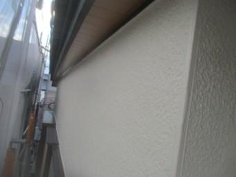 2階の上塗りが終了しました