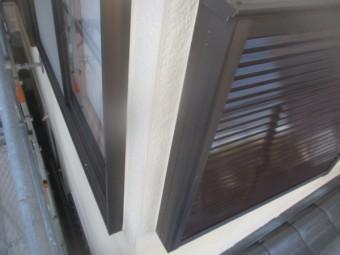 2階の窓周りの完工です