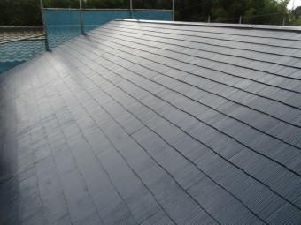 屋根塗装が終了しました