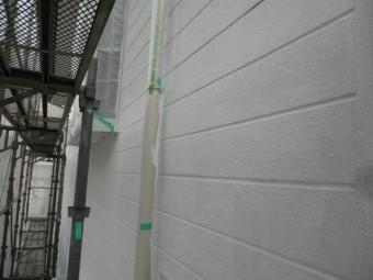 西面の外壁下塗りが終了しました