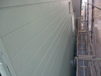 東面の外壁塗装が終了しました
