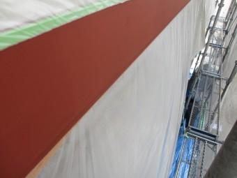 幕板の下塗りが終了しました