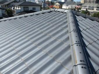 大屋根のラバーロッツク工事が終了しました