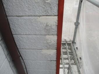 外壁の補修完了です