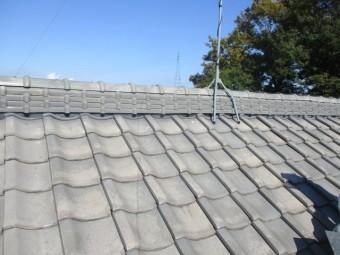 施工後の2階屋根の状態です