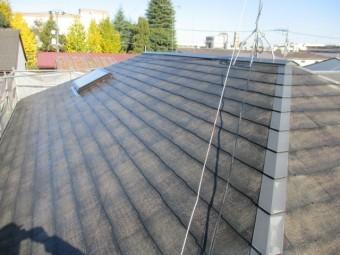 洗浄後の屋根の状態です